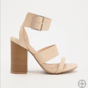 Forever 21 Faux leather strappy sandals- Brand new